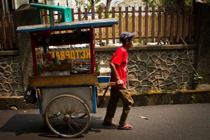 Mann Indonesien Bevölkerung