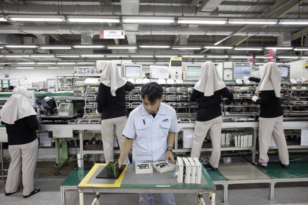 Indonesien Wirtschaft Fabrik