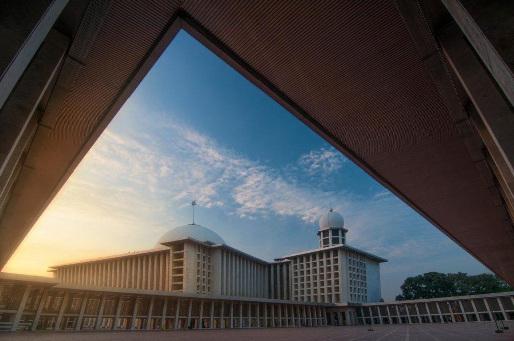 Istiqlal Moschee in Jakarta Unabhängigkeitsmoschee