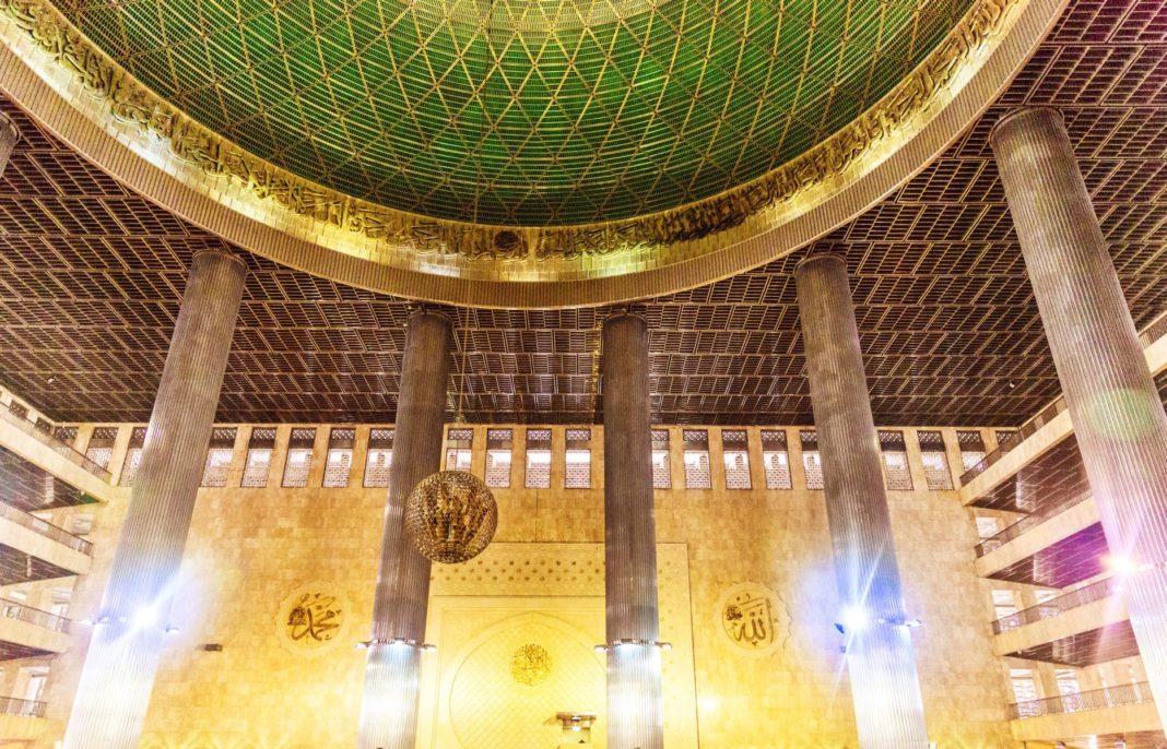 Istiqlal Moschee - Die Unabhängigkeitsmoschee Jakarta Indonesien