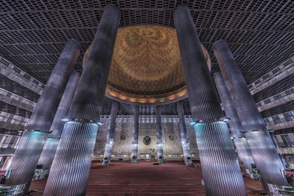 Istialal Moschee Innenansicht