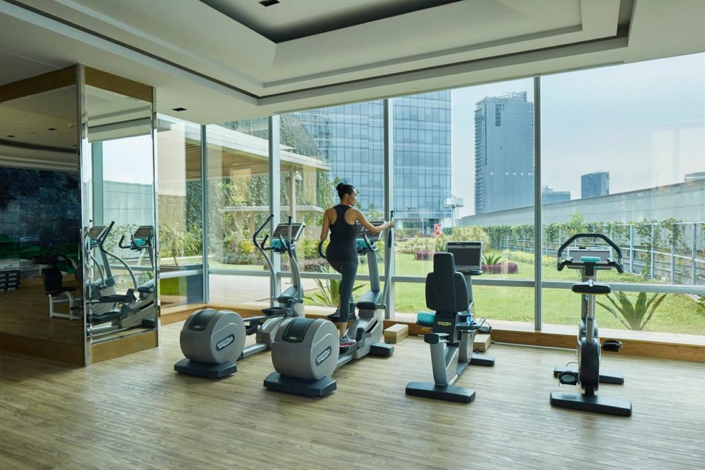 Raffles Jakarta Gym Fitness