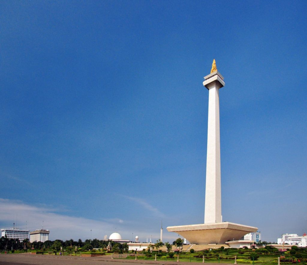 Monumen Nasional in Jakarta Indonesien