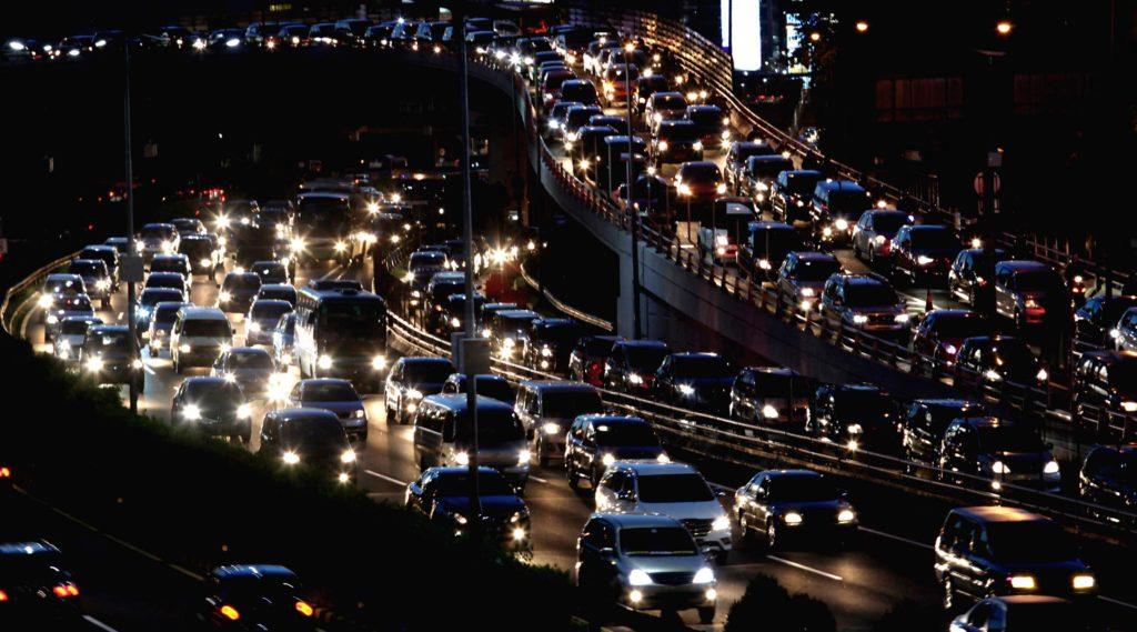 Verkehrt in Jakarta
